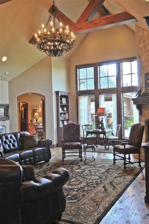 tudor living room tudor traditional living room oklahoma city by brent gibson classic home design