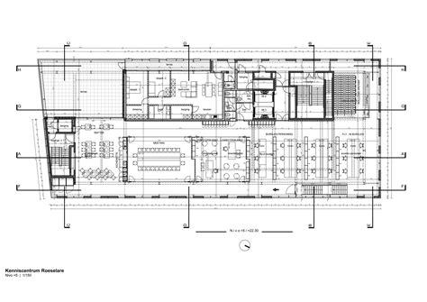 california academy of sciences floor plan gallery of arhus knowledge center buro ii archi i 22