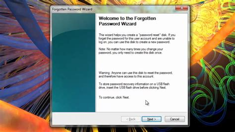 windows 7 password reset disk youtube creating your windows 7 password reset disk youtube