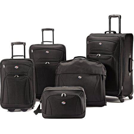 Travel Bag Set 6 american tourister 5 luggage set walmart