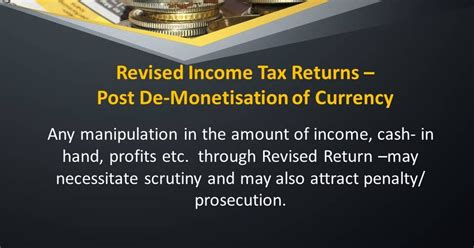 Section 5 Of Income Tax Act by Income Tax Revised Income Tax Returns Post De