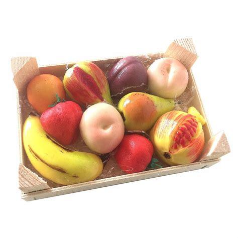 Handmade Fruits - sicilian handmade martorana marzipan fruit 500g wooden