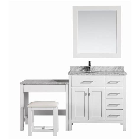design element two london 36 in w x 22 in d vanity in design element london 36 in w x 22 in d vanity in white