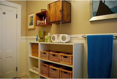 bathroom storage cabinet with baskets 20 tips for maximizing space in small bathrooms