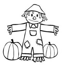 free printable scarecrow template scarecrow coloring pages and book 17038 bestofcoloring