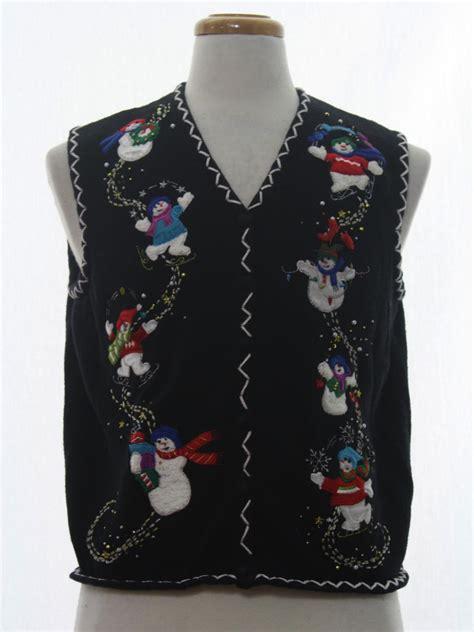 womens ugly christmas sweater vest designers originals
