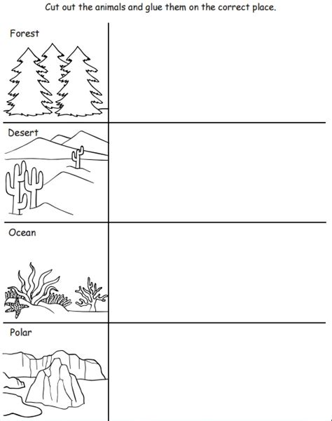 printable worksheets animal homes crafts actvities and worksheets for preschool toddler and