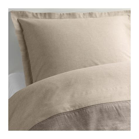 ikea linen bedding malou duvet cover and pillowsham s
