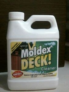 envirocare moldex  deck cleaner concentrated  quart