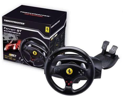 Gt Experience 2 In 1 Racing Wheel Pc Ps3 Ps2 thrustmaster gt experience racing wheel 2960697