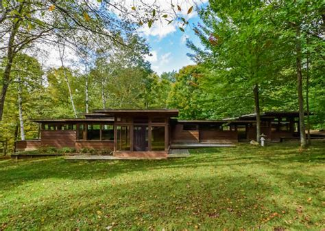 frank lloyd wright inspired house plans stellar frank lloyd wright inspired michigan home asks 300k curbed