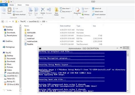 cara membuat file windows ke iso cara menconvert file esd windows 10 menjadi file iso winpoin