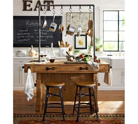 pottery barn kitchen islands pin by on build on build on the