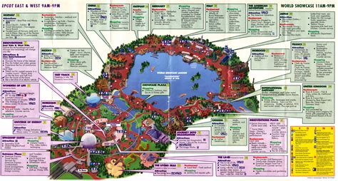 map of epcot archives 2010 september blogging disney