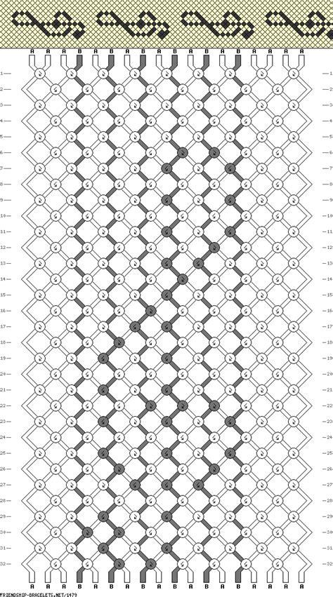 pattern notes 1479 friendship bracelets net