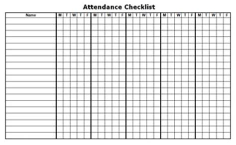 10 Best Images Of Printable Blank Attendance Sheet Template Printable Class Attendance Sheet 10 Best Images Of Blank Attendance Calendar Free Printable Attendance Sheets Monthly Class