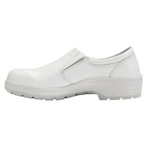 chaussures de securite basses blanche restauration cuisine