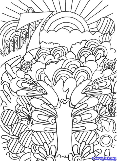 psychedelic elephant coloring pages coloring page psychedelic elephant pages pdf download