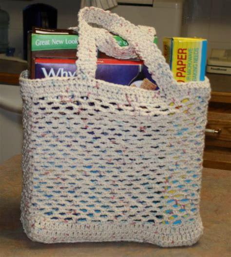 crochet pattern grocery bag crochet grocery bag creatys for