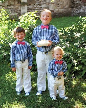 boys coral shirt and tie ensemble easter matts dress clothes these handsome ring bearers sported mini boden gingham