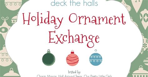 chasin mason announcing a holiday ornament exchange