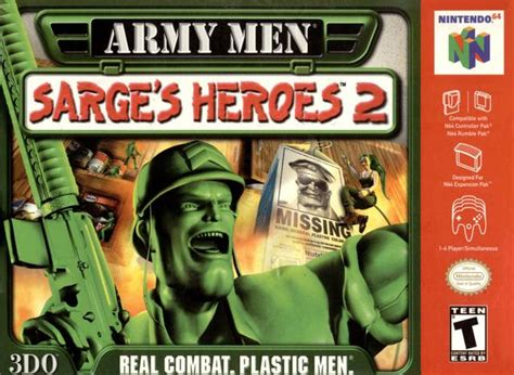 Gamis Rompi Braso army sarge s heroes 2 usa rom