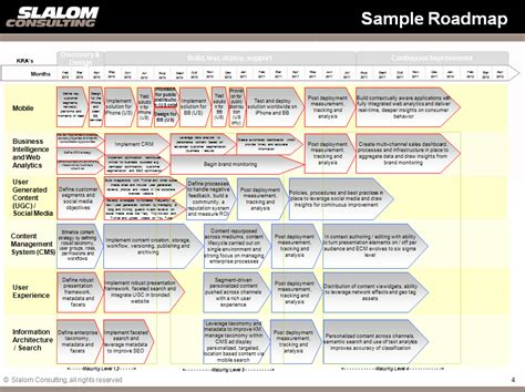 Implementation Roadmap Template multi channel strategy niti vaish s