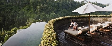 hanging infinity pools bali hanging infinity pools in bali at ubud hotel resort