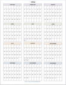 at a glance calendar template 2015 year at a glance new calendar template site