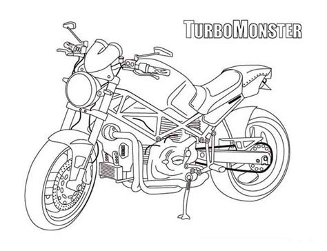 ducati motorcycle coloring pages motorcycle coloring pages
