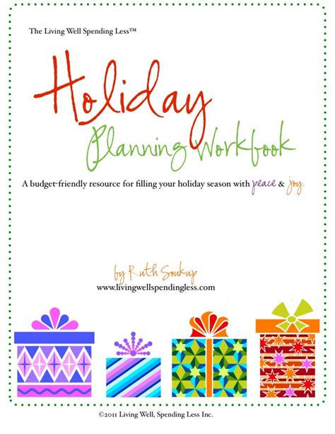 free holiday planning guide how to plan for christmas