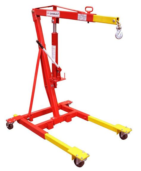 2 Ton Mobile Crane C W Manual Hydraulic Model Number 3900
