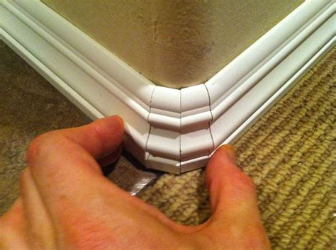 baseboards around rounded corners carpentry diy