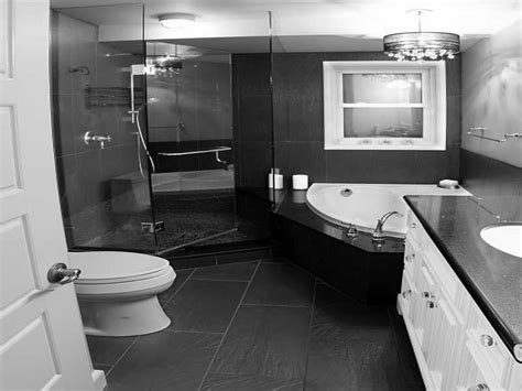 Finished Bathroom Ideas Vintage Black And White Bathroom Ideas Black White Glossy Finished Ideas 41 Apinfectologia