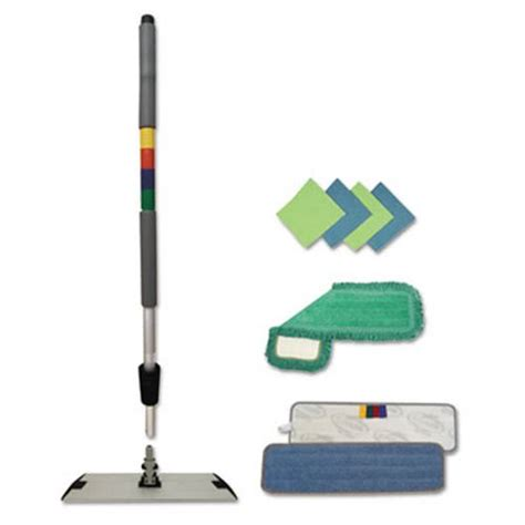 microfiber couch repair kit boardwalk microfiber mopping kit bwkmfkit
