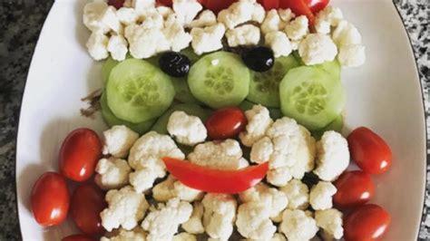 vegetable santa claus platter santa vegetable tray recipe allrecipes