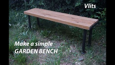 how to make a patio bench how to make a simple garden bench