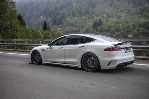 Tesla Model S Designer Official Prior Design Tesla Model S P100d Gtspirit