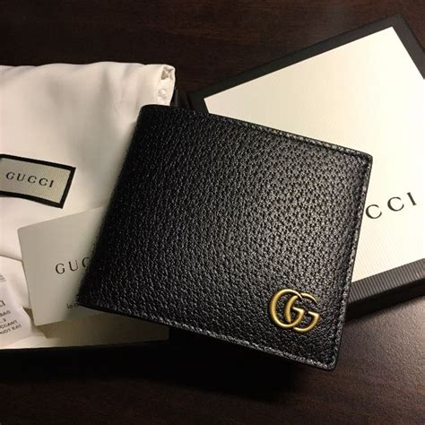 gucci gg marmont leather bi fold wallet new s fashion bags wallets on carousell
