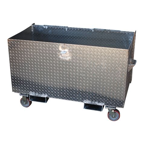 aluminum box vestil apts 3660 aluminum treadplate portable tool box by vestil toolfetch