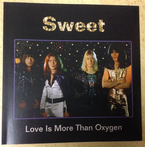 Enjoy More Than by The Sweet Is More Than Oxygen Cd At Discogs