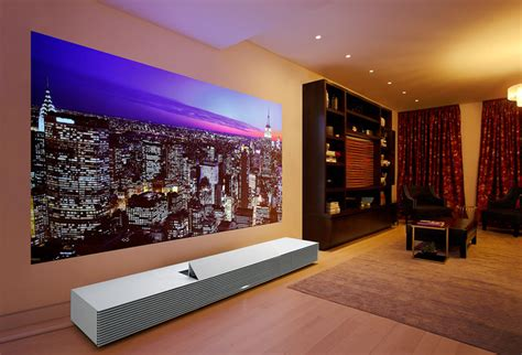projector in living room quot jazz lounge quot designed by cion platt for sony 4k ultra