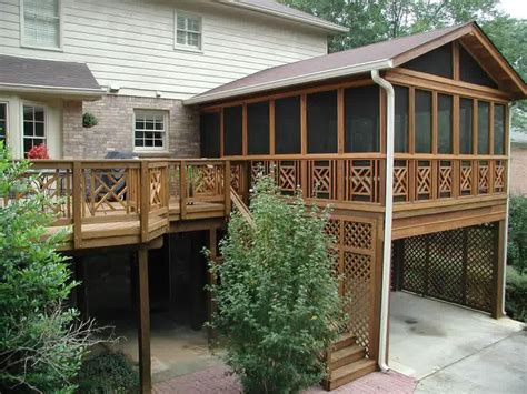 porch design plans covered deck designs homesfeed