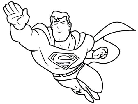 coloring page of a superhero superhero coloring pages chagarkennels com