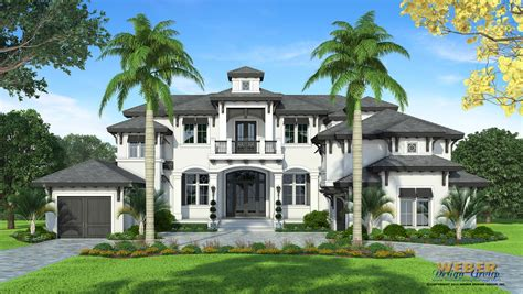 coastal house plan luxury 2 story west indies home floor plan