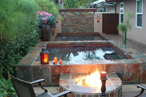 tub pit fast design tuscan style backyard landscaping pictures