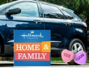 Hallmark Channel Sweepstakes - hallmark channel home family s ford edge sweepstakes sweeps maniac