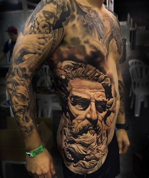 awesome zeus tattoo inkstylemag