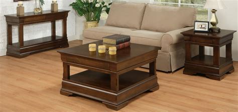 Living Room Occasional Tables Phillipe Occasional Table Set Contemporary Coffee End