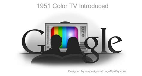when was color tv introduced history of the logo back in the olden days